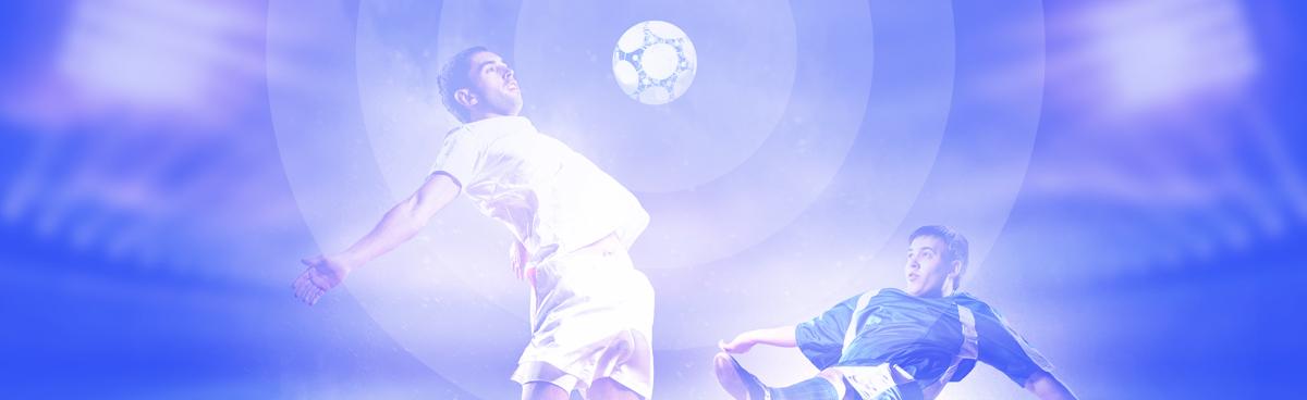 Esitelty Kuva Noin Kaksi Jalkapalloilijaa
