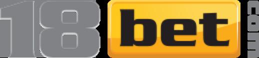 Logo 18Bet Harmaa Keltainen